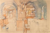 the bar at annabel's by john stanton ward