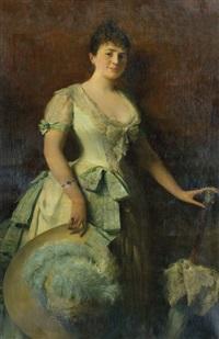 элегантная женщина by edoardo gelli