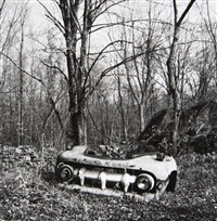 junked cars, old lyme, conneticut by walker evans