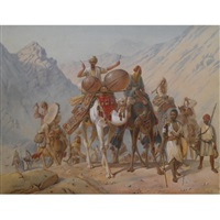 the caravan by joseph austin benwell