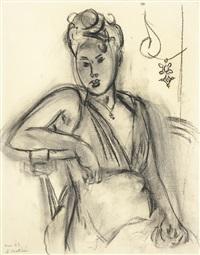 femme assise (michaela) by henri matisse