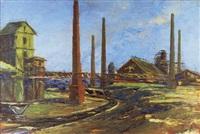 lehmgrube in der lausitz by rudolf döring
