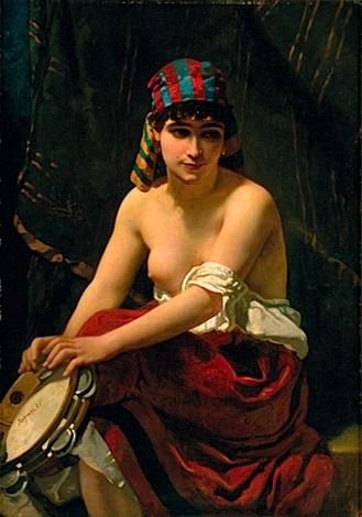 lorientale au tambourin by anthony reynier