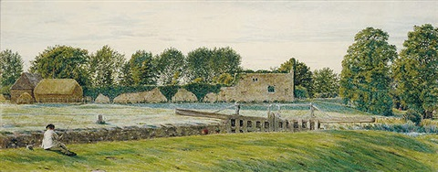 godstow nunnery oxfordshire by george price boyce