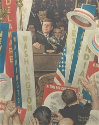 a time for greatness by norman rockwell