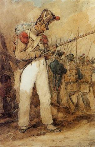 officier de linfanterie du premier empire by theodore leblanc