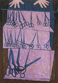 the scissors shop by john brack