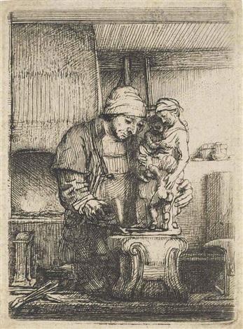 the goldsmith by rembrandt van rijn