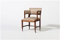 armchair by jacob pieter van den bosch