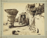dancer's rock, pueblo walpi by john k. hillers