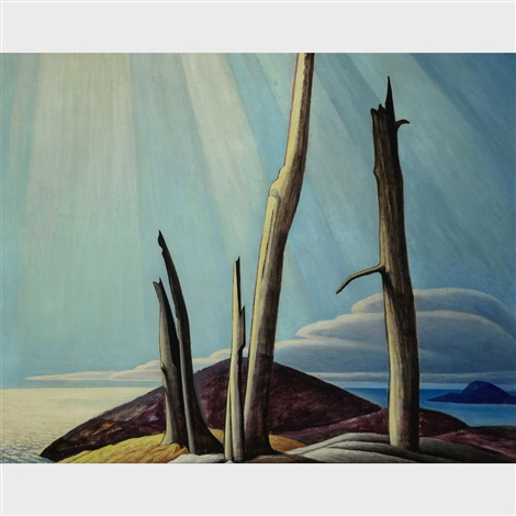 Lake Superior Painting By Lawren Harris On Artnet - Superior painting