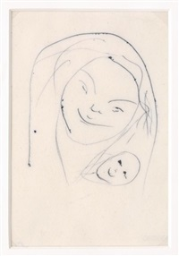maternidad by frida kahlo