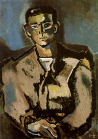 retrato de joven by francisco rodon