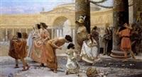 the gladiator's procession by emilio vasarri
