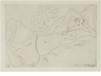 odalisque couchée by henri matisse