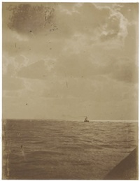 marine view, la havre by cyrus macaire