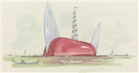 il corso del coltello by claes oldenburg