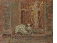 le chat by henri le sidaner