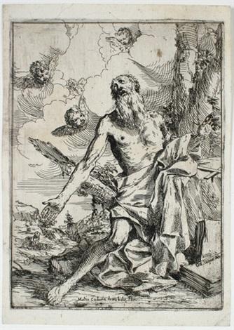 der heilige hieronymus by giulio carpioni