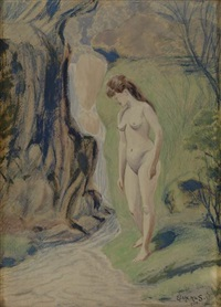 venus of the forest by louis michel eilshemius