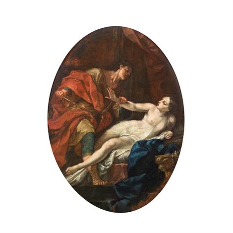 tarquinius und lucretia by antonio bellucci