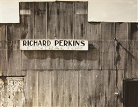 tin building, moundville, alabama, summer by walker evans