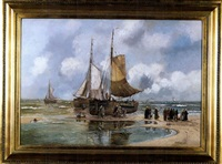 back from the sea by hans wacker-elsen
