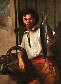 le marchand de poisson by jose aranda