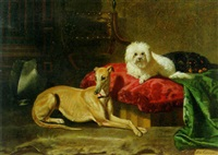 the dog parlour by bernard de gempt