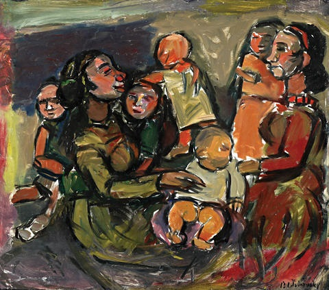 motherhood by pinchas litvinovsky