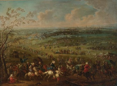 the turkish siege of vienna by august querfurt