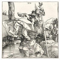 st. christopher by albrecht dürer