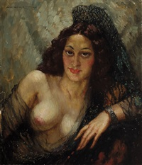 the mantilla by norman alfred williams lindsay