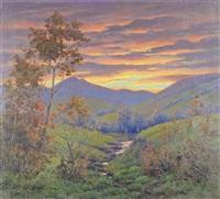 landscape by robert ottokar lindneux