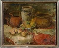 nature morte aux fruits et aux légumes by victor simonin