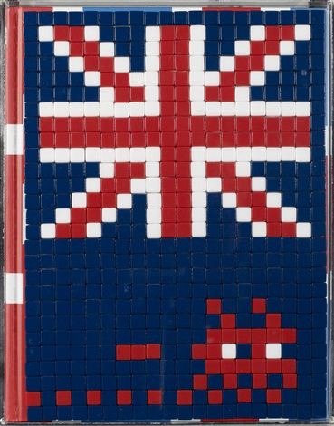 invasion in the uk by invader
