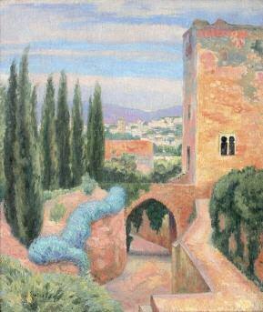 alhambra tour de la captive by paul emile colin