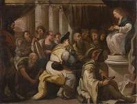 cristo tra i dottori by giuseppe simonelli