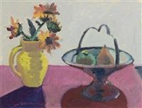 sunflowers and fruit by brian ballard