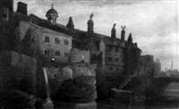 old college, manchester by joseph josiah dodd