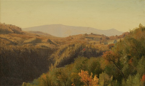 kaaterskill clove by jervis mcentee
