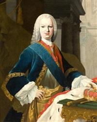 retrato del rey fernando vi by jacopo amigoni