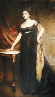 élégante by etienne-albert-eugène joannon