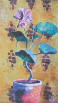 pot de fleurs by georgette agutte