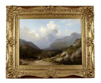 figures in a highland glen by charlotte nasmyth