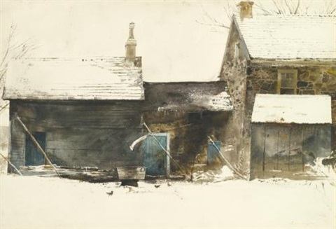 wash tub by andrew wyeth