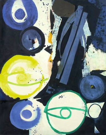 orakel by ernst wilhelm nay