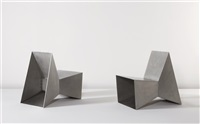 chairs (pair) by scott burton