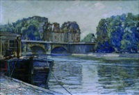 le pont neuf by eugène martial simas