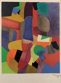 composition géométrique by maurice estève